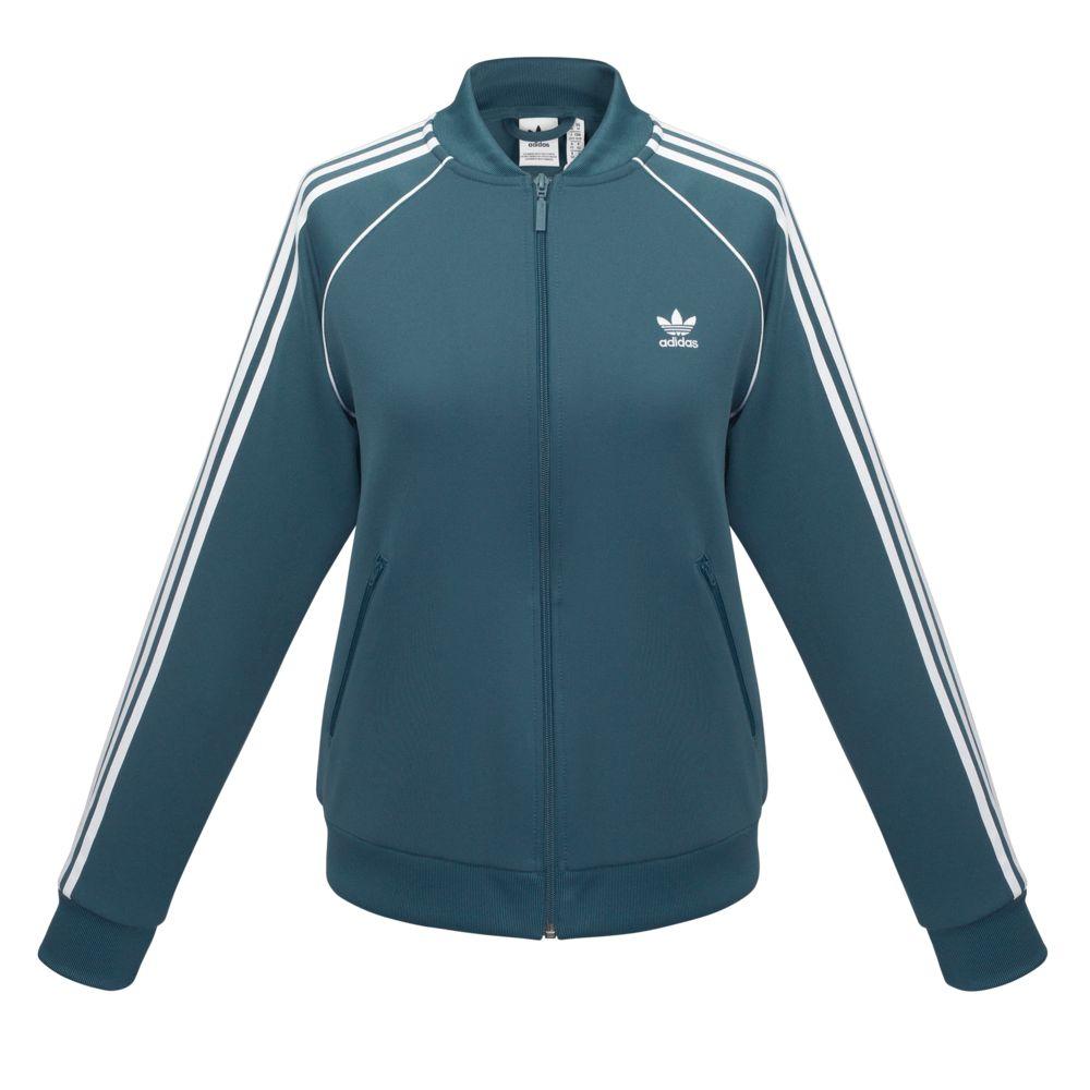 Куртка тренировочная женская на молнии SST TT, синяя, размер XL куртка тренировочная женская на молнии sst tt синяя размер xl