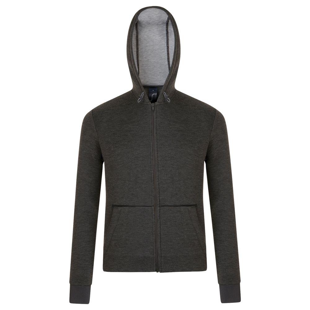 Куртка унисекс VOLT черный меланж, размер S фото
