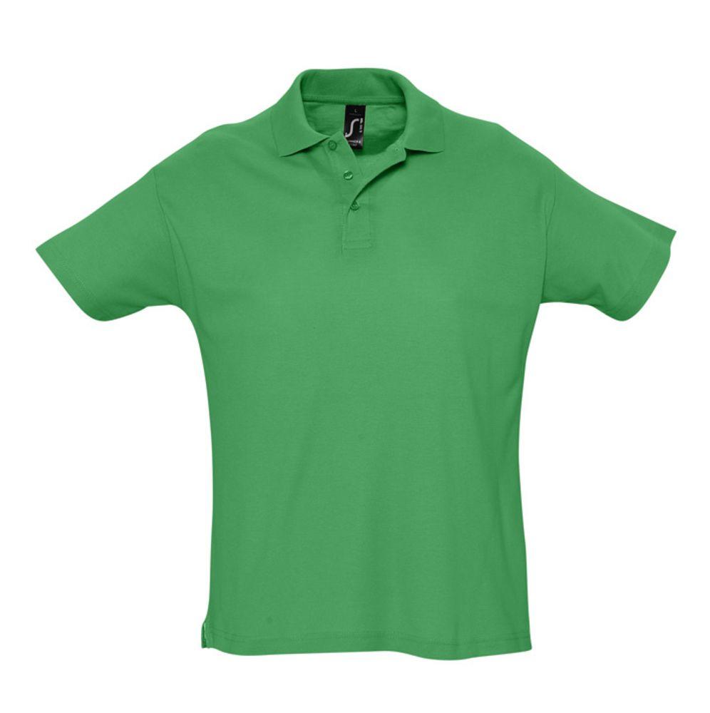 Рубашка поло мужская SUMMER 170 ярко-зеленая, размер XS платье oodji ultra цвет красный белый 14001071 13 46148 4512s размер xs 42 170