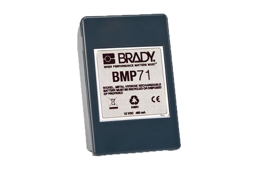 Аккумуляторная батарея Brady BMP71 (brd114885)