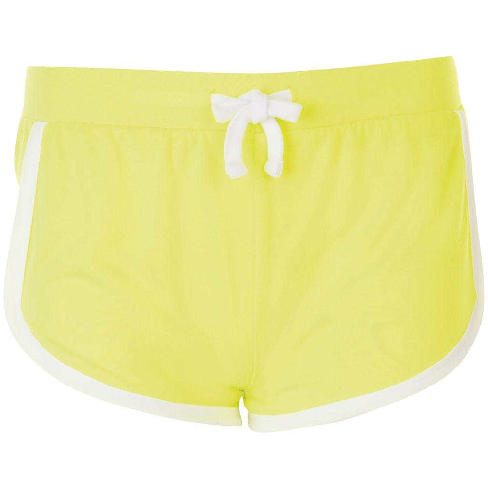 Шорты женские JANEIRO желтый неон, размер M/L