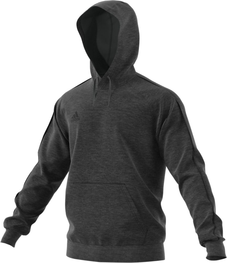 Толстовка с капюшоном Core 18 Hoody, серая, размер XL фото