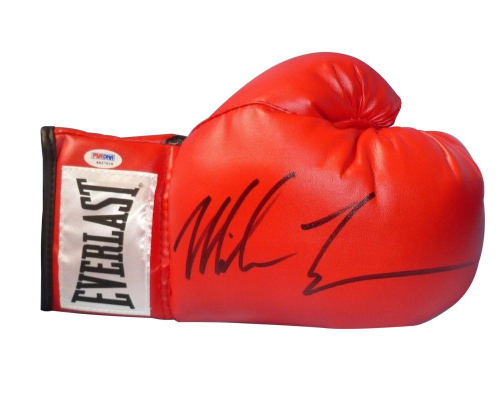 Перчатка с автографом Майка Тайсона фото с автографом мика джаггера