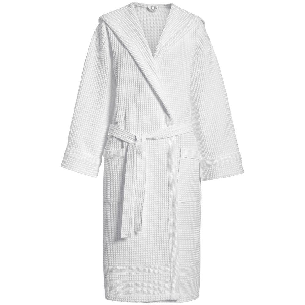 цена Халат вафельный Adore, белый, размер L/XL онлайн в 2017 году