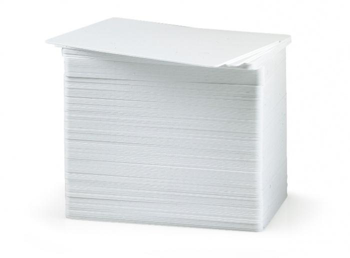 Фото - Сверхтонкие пластиковые карты Fargo UltraCard 10 mil 81758 чистящие карты 82133