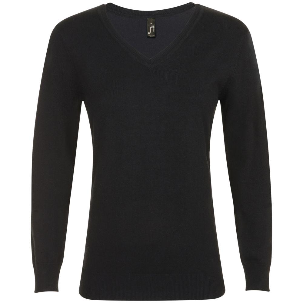 цена Пуловер женский GLORY WOMEN черный, размер XXL онлайн в 2017 году