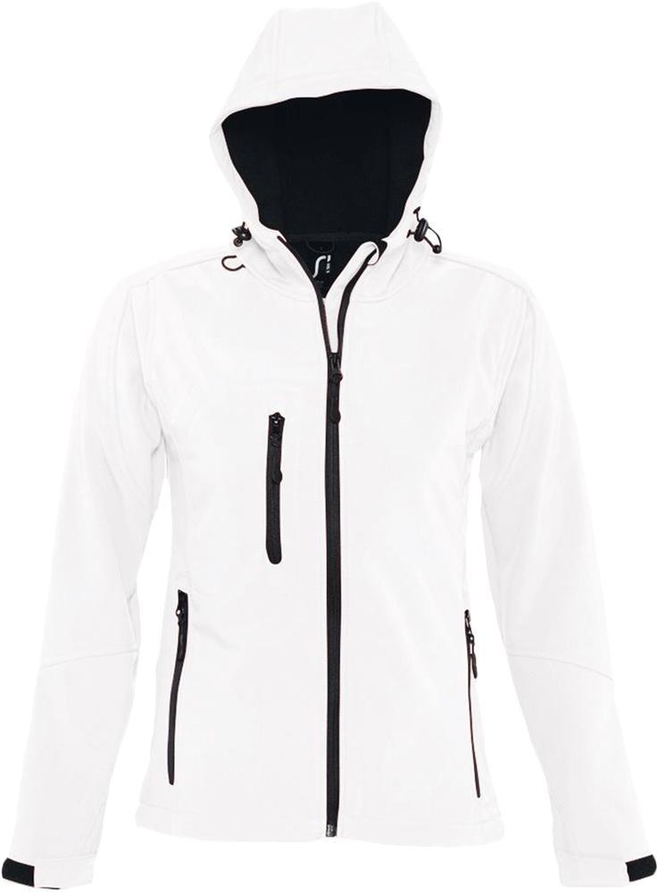 Куртка женская с капюшоном Replay Women 340 белая, размер L
