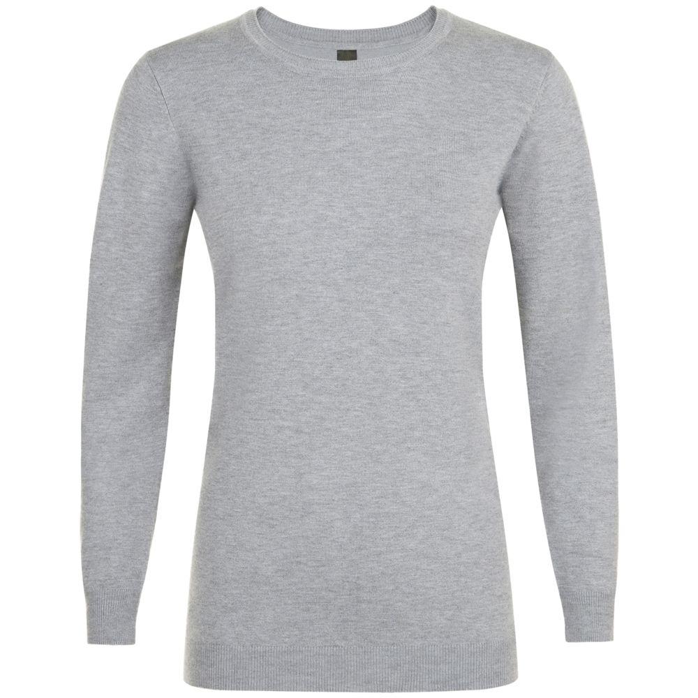 джемпер женский calvin klein jeans цвет серый j20j208528 0390 размер xs 40 42 Джемпер женский GINGER WOMEN, серый меланж, размер XS