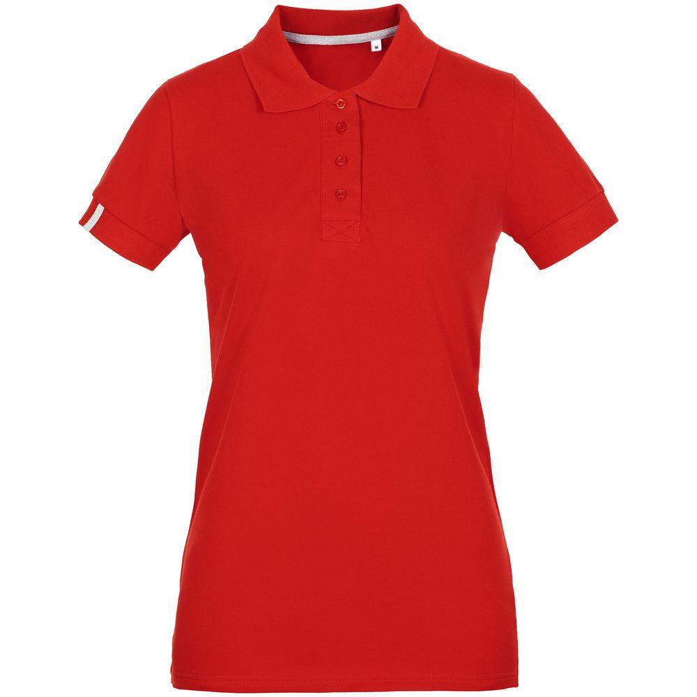 Фото - Рубашка поло женская Virma Premium Lady, красная, размер S рубашка поло мужская virma premium красная размер l