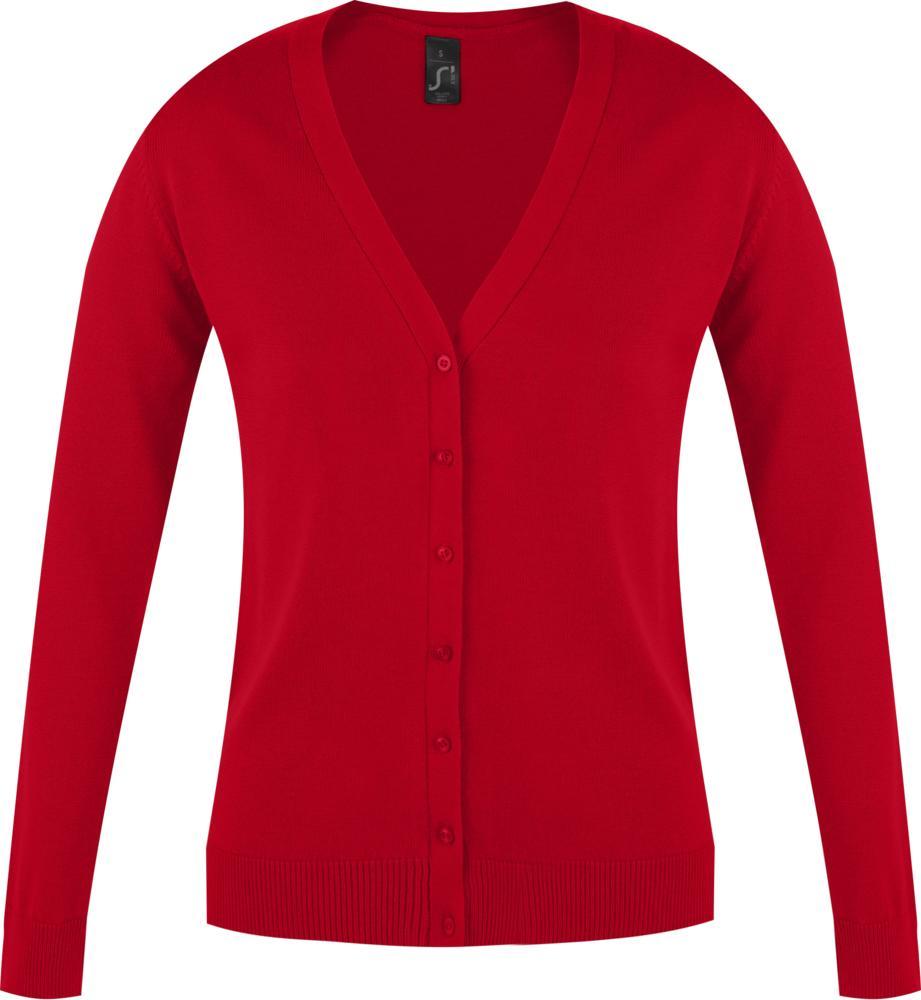 Джемпер женский GOLDEN WOMEN красный, размер XL