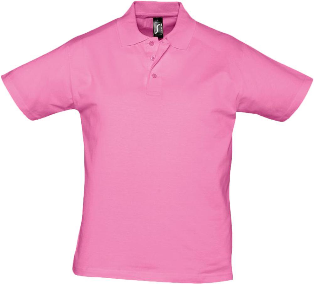 Рубашка поло мужская Prescott men 170 розовая, размер L фото