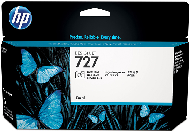 HP DesignJet 727 Photo Black 130 мл (B3P23A)