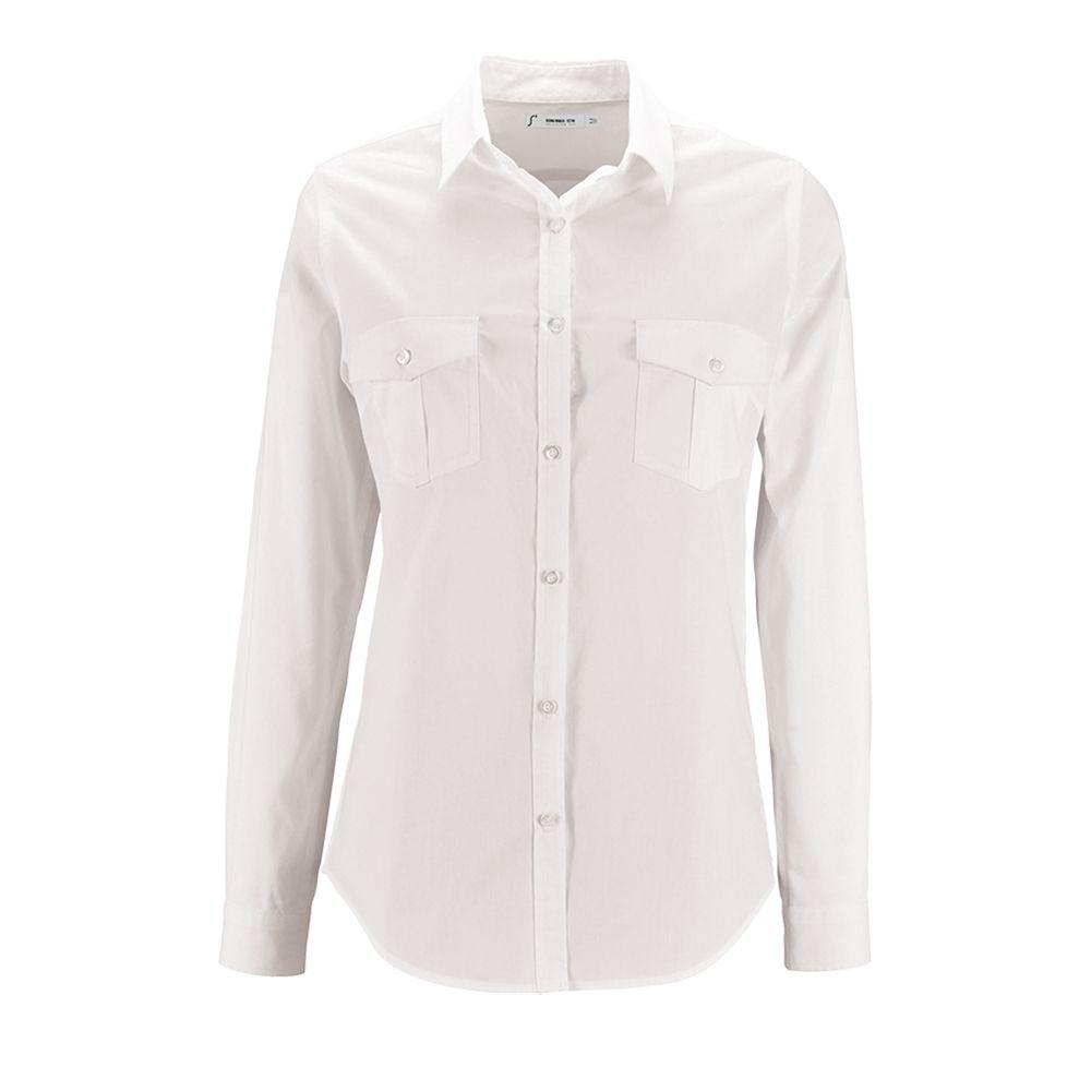 Рубашка женская BURMA WOMEN белая, размер L рубашка norveg classic размер l 3l1rl 002 l black page 9