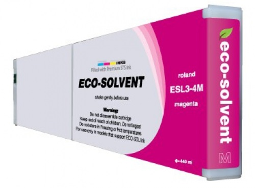 ECO-Solvent Magenta 440 мл (ESL3-4MG) eco solvent printer dx5 double capping station system for galaxy with 2 original