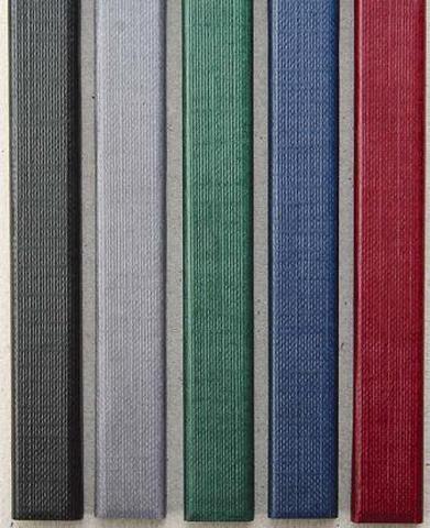 Фото - Цветные каналы с покрытием «ткань» O.CHANNEL SLIM А4 304 мм 16 мм, серый hatber бизнес блокнот лайт majestic 128 листов в клетку цвет серый 44350