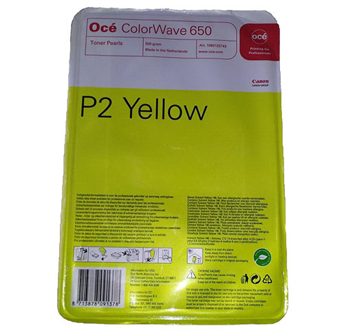 Комплект картриджей ColorWave 650 Yellow 4x500 гр (6874B001) colorwave 650 black 500 гр 6874b009