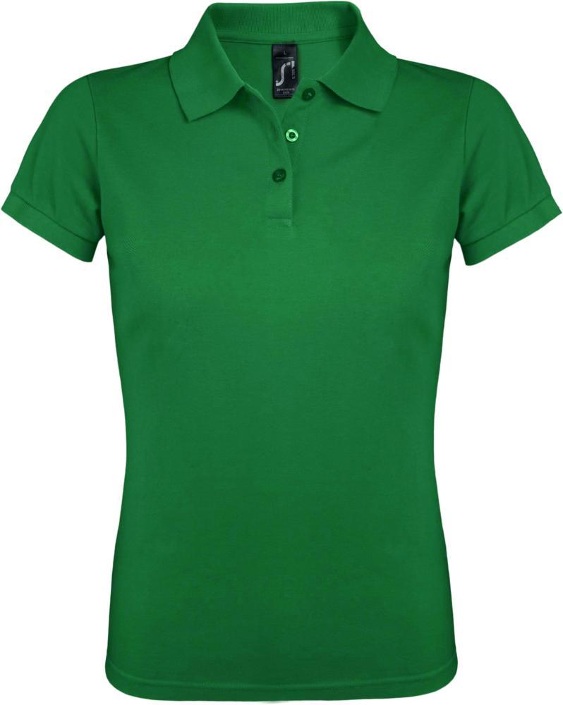 Рубашка поло женская PRIME WOMEN 200 ярко-зеленая, размер M фото