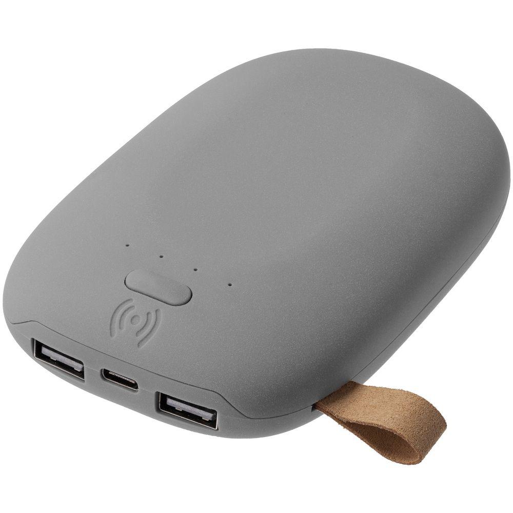 Аккумулятор с беспроводной зарядкой Pebble Wireless 9000 мАч, серый стоимость