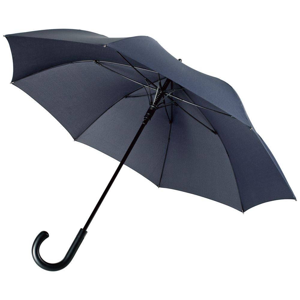 Зонт-трость Alessio, темно-синий сапоги alessio nesca alessio nesca mp002xw1higc