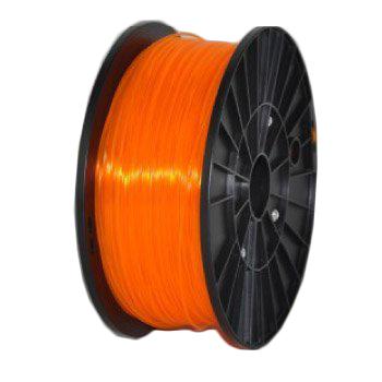 Фото - Пластик PLA прозрачно-оранжевый ремешок для смарт часов semolina ремешок силиконовый для apple watch 42 мм gx28 оранжевый оранжевый
