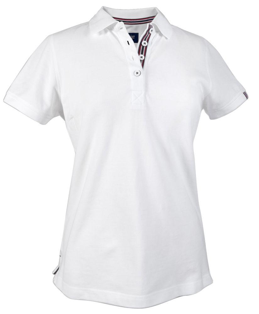 Рубашка поло женская AVON LADIES, белая, размер XXL