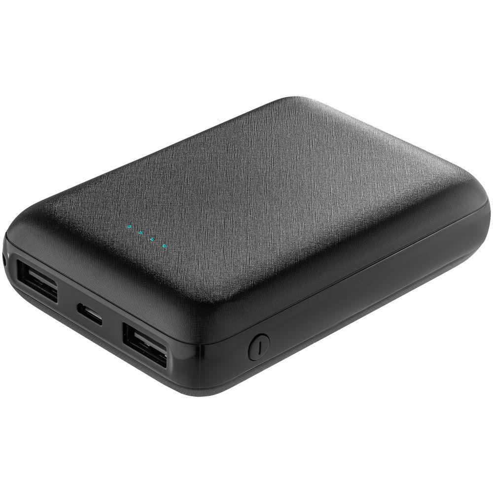 Фото - Внешний аккумулятор Uniscend Full Feel 10000 мАч, черный внешний аккумулятор deppa nrg turbo compact 10000 мач qc pd 3 0 18w led экран