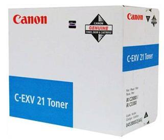 Фото - Тонер-картридж Canon C-EXV 21 C (0453B002) тонер canon c exv54c для imagerunner c3025i голубой 8500стр 1395c002