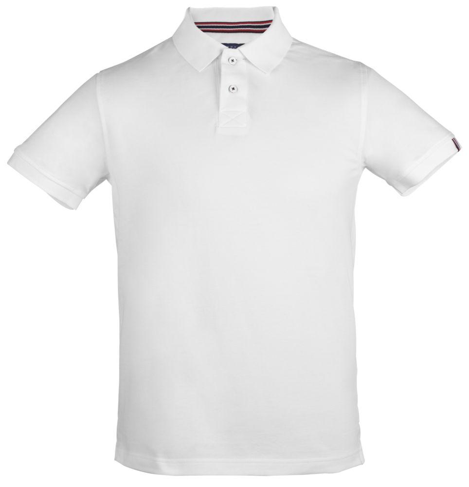 Рубашка поло мужская AVON, белая, размер 3XL