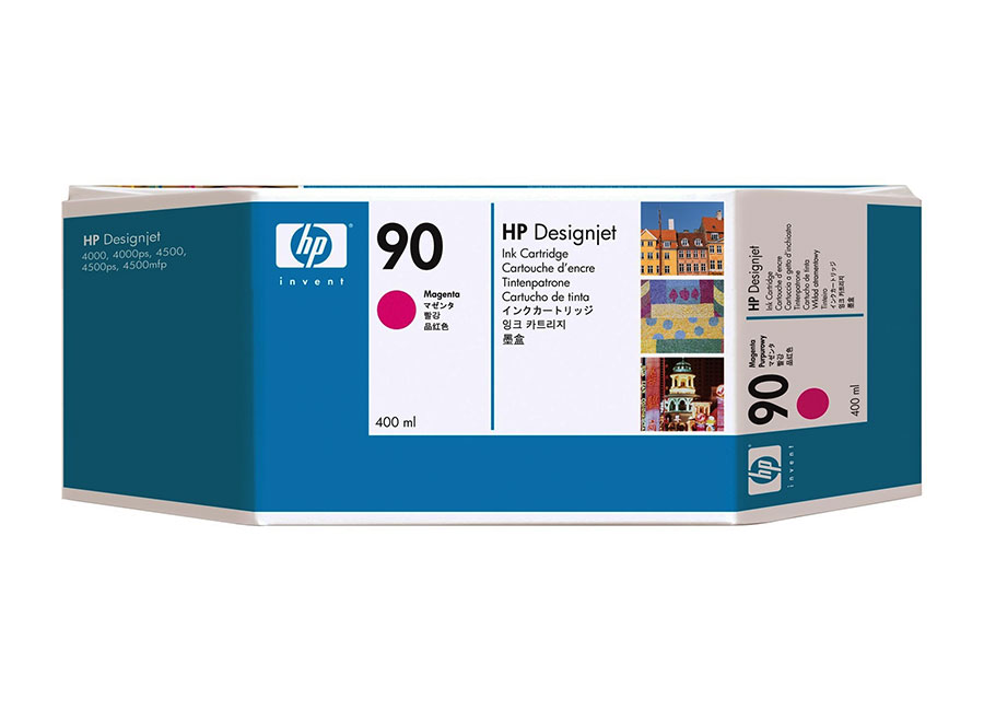 Набор картриджей HP DesignJet 90 Magenta 3x400 мл (C5084A) hot sales 80 printhead for hp80 print head hp for designjet 1000 1000plus 1050 1055 printer
