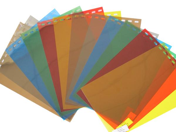 Обложки пластиковые, Прозрачные без текстуры, A3, 0.20 мм, Синий, 100 шт фото