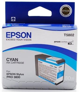 Картридж Epson T5802 Cyan 80 мл (C13T580200) фото