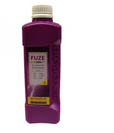 Экосольвентные чернила Bordeaux FUZE (PRIME ECO PeNr) Yellow, 1 л (бутыль) bordeaux