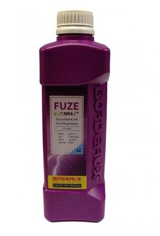 Фото - Экосольвентные чернила Bordeaux FUZE (PRIME ECO PeNr) Light Cyan1 л (бутыль) экосольвентные чернила veika balance me21 light cyan 1 л