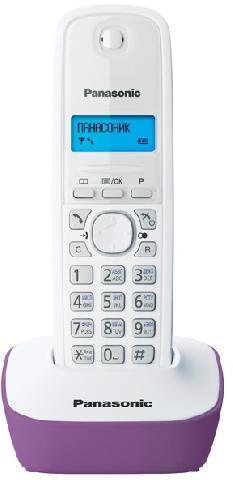 Фото - KX-TG1611RUF проводной и dect телефон foreign products vtech ds6671 3