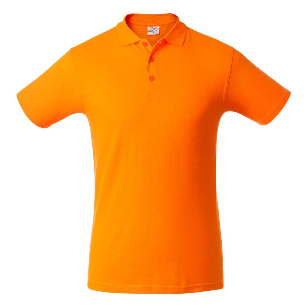 Рубашка поло мужская SURF оранжевая, размер XL