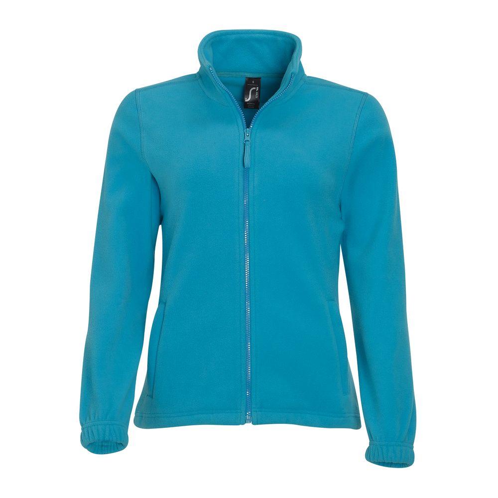 Куртка женская North Women, ярко-бирюзовая, размер S фото