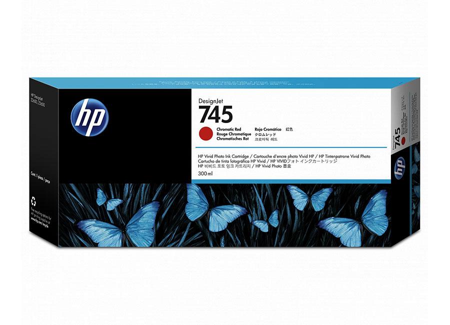 HP DesignJet 745 Chromatic Red 300 мл (F9K06A) hp designjet t830 36 f9a30a