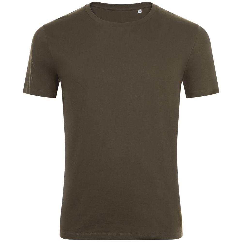 Фото - Футболка мужская MARVIN темный хаки, размер 3XL футболка мужская marvin серый меланж размер 3xl
