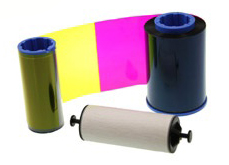Фото - Лента для полноцветной печати Zebra YMCUvK 800012-543 лента для полноцветной печати evolis ymcko r3011
