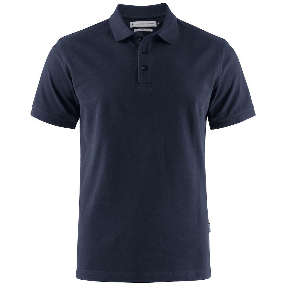 Рубашка поло мужская Neptune темно-синяя, размер L рубашка поло мужская neptune темно синяя размер s