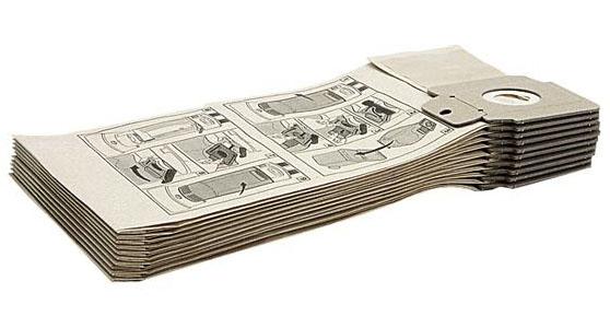 Бумажные фильтр мешки (двухслойные) для пылесосов CV 30/1, 38