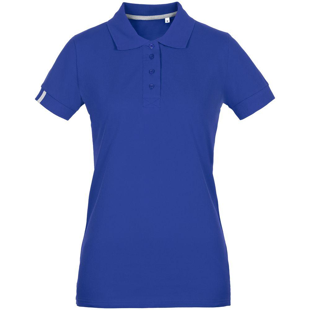 Рубашка поло женская Virma Premium Lady, ярко-синяя, размер XL