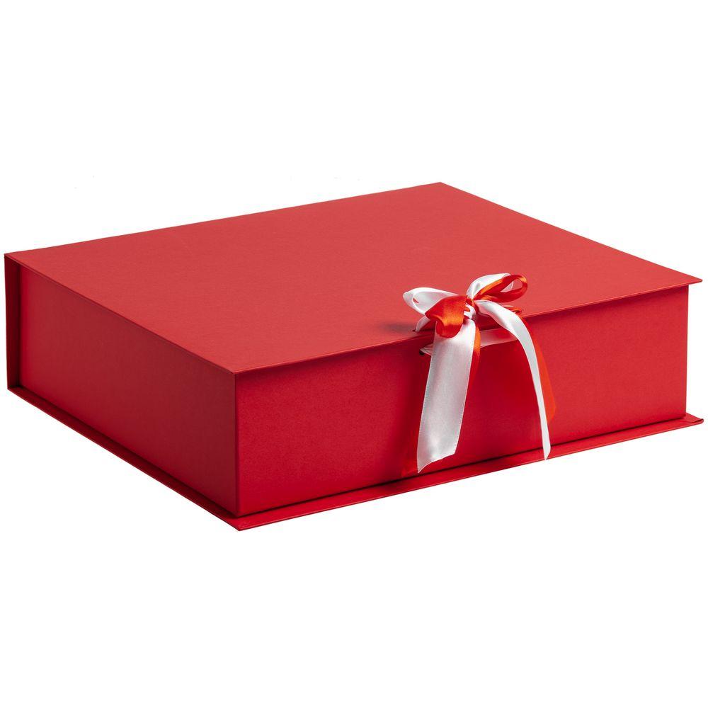 Коробка на лентах Tie Up, красная