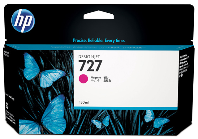 HP DesignJet 727 Magenta 130 мл (B3P20A)
