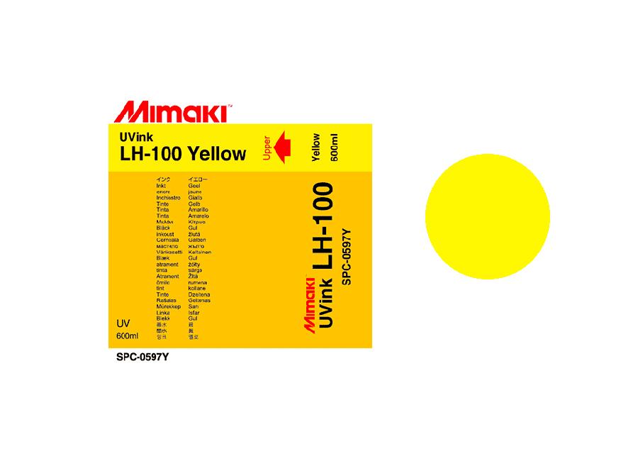 Фото - УФ чернила LH-100UV LED Yellow, 600 мл пигментные чернила artistri yellow