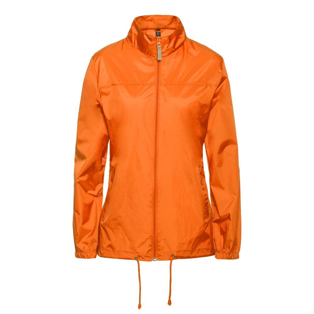 Ветровка женская Sirocco оранжевая, размер S фото