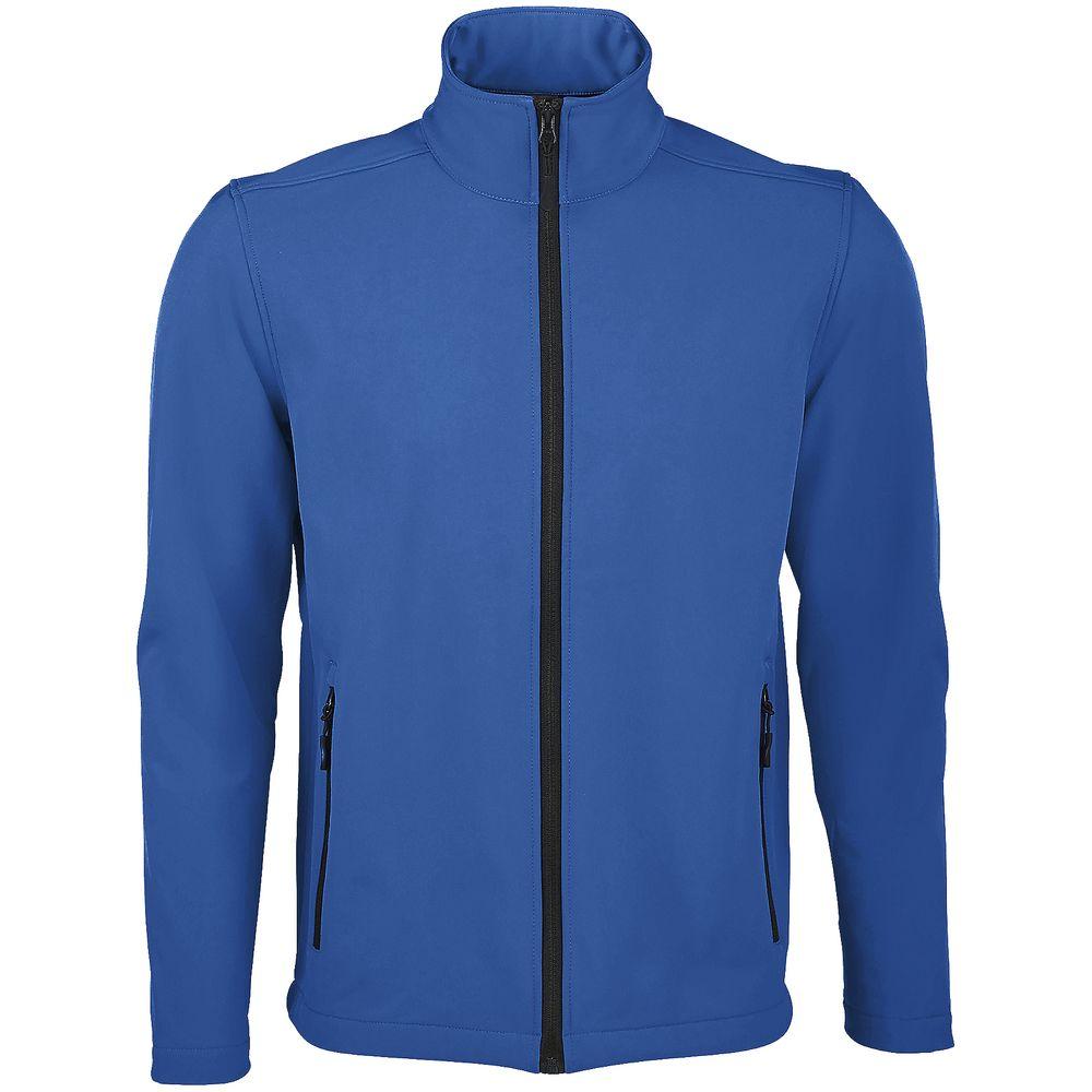 Куртка софтшелл мужская RACE MEN ярко-синяя (royal), размер S