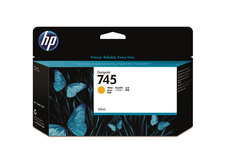 HP DesignJet 745 Yellow 130 мл (F9J96A)