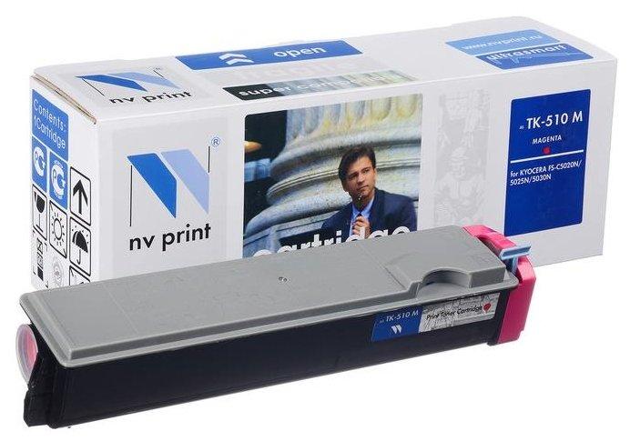 Фото - Картридж NV Print TK-510M картридж nv print tk 8315c для