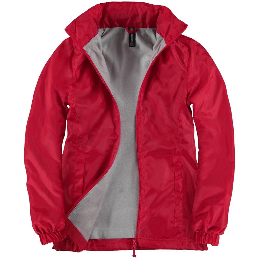 Ветровка женская ID.601 красная, размер XS ветровка женская id 601 оранжевая размер xxl